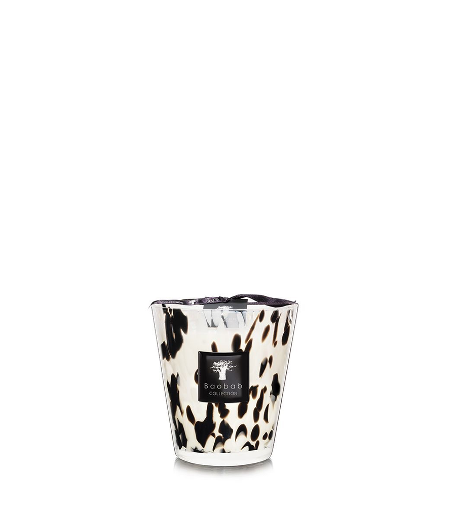 BAOBAB COLLECTION - Candle Black Pearls Max 16-1