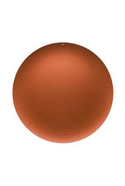 Tray Brown Veneer D42cm