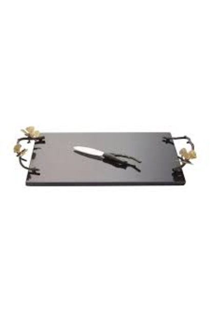 Ginkgo Butterfly Granite Cheese Tray