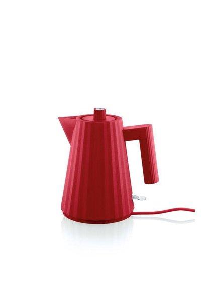 Red Plissé Kettle 1L