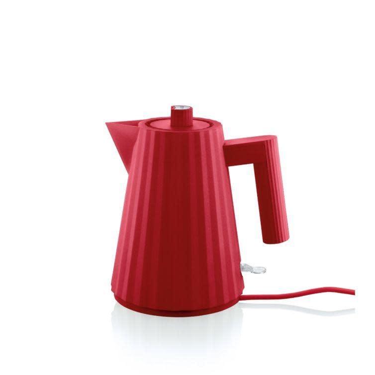 Red Plissé Kettle 1L-1