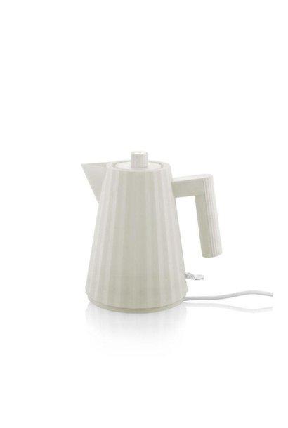 White Plissé Kettle 1L