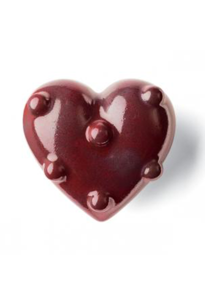 Coeur Polly Rouge