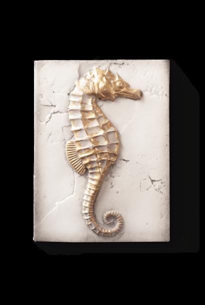 Seahorse Gold Frame