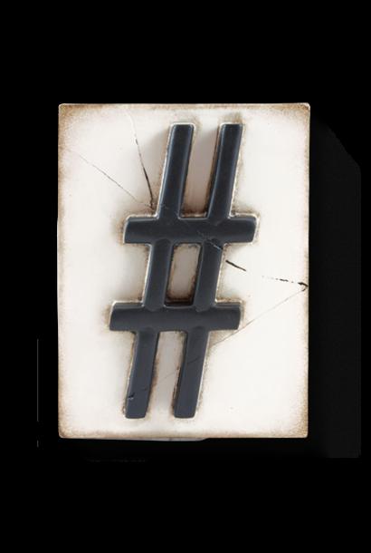 Hashtag Frame