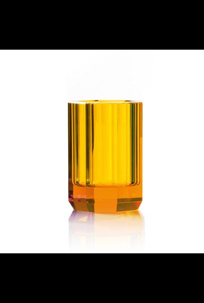 Amber Crystal Glass