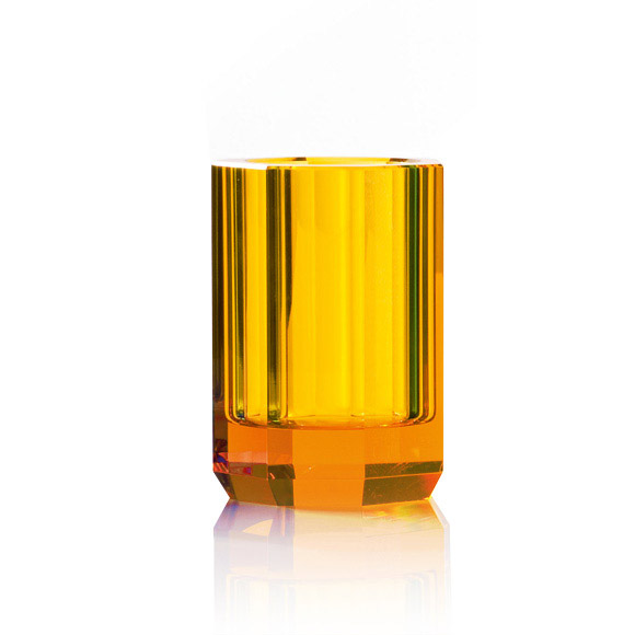 Amber Crystal Glass-1