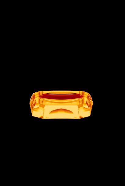 Amber Crystal Soap Dish