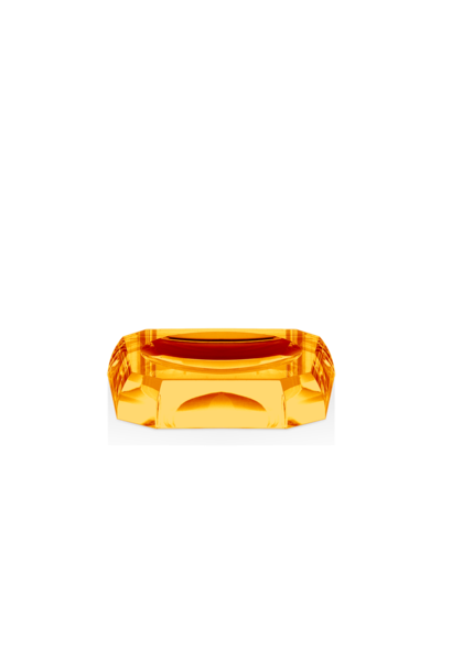 Porte Savon Cristal Ambre KR STS