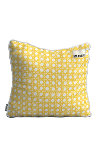 Coussin Cannage Mimosa 45x45cm