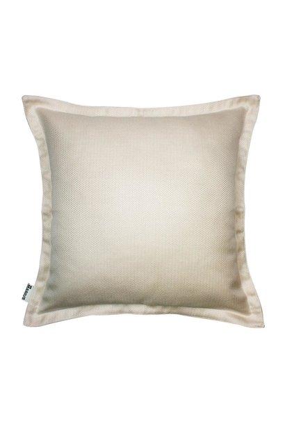Luxe Chevron Cushion Off-White 50x50cm