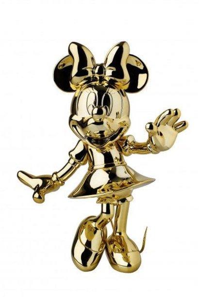 Minnie Welcome Gold Chrome 30cm