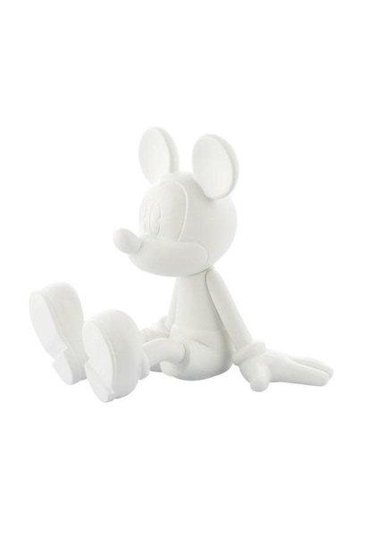 Mickey Sitting White 12cm