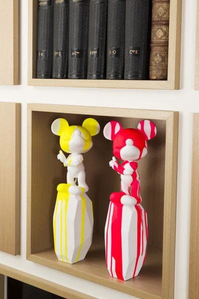 Mickey by Arik Levy White / Pink 43cm-2