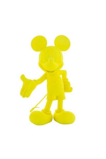Mickey Welcome Jaune Neon 30cm