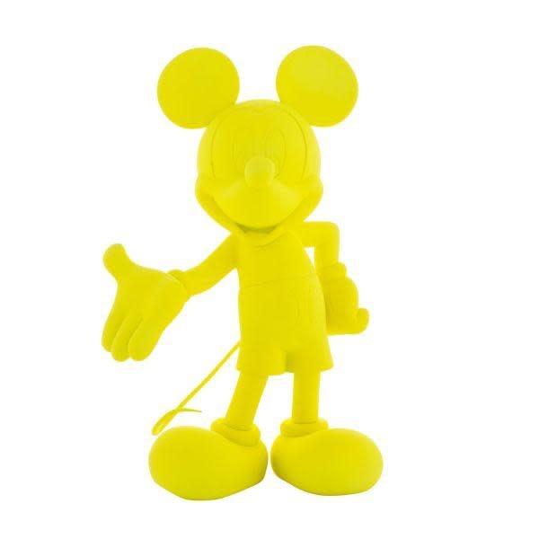 LEBLON DELIENNE - Mickey Welcome Neon Yellow 30cm-1