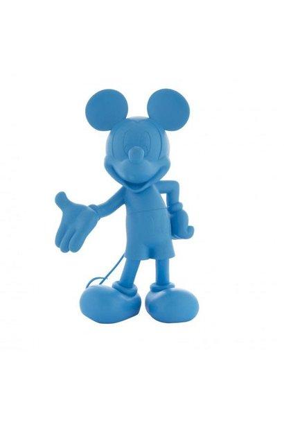 Mickey Welcome Bleu Neon 30cm