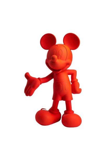 Mickey Welcome Orange Neon 30cm
