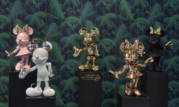 LEBLON DELIENNE - Minnie Limited Edition Matt / Gold 62cm-6