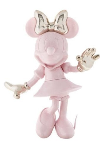 Minnie Welcome Bicolore Rose/Or 30cm