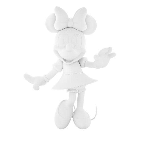 Minnie Welcome Matte White 30cm-1