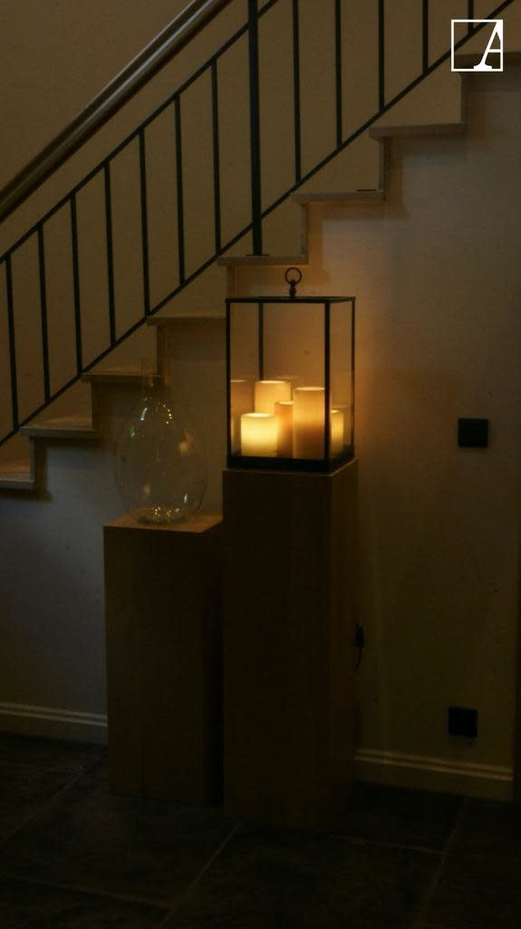 Lantern 5 Candles LED-6