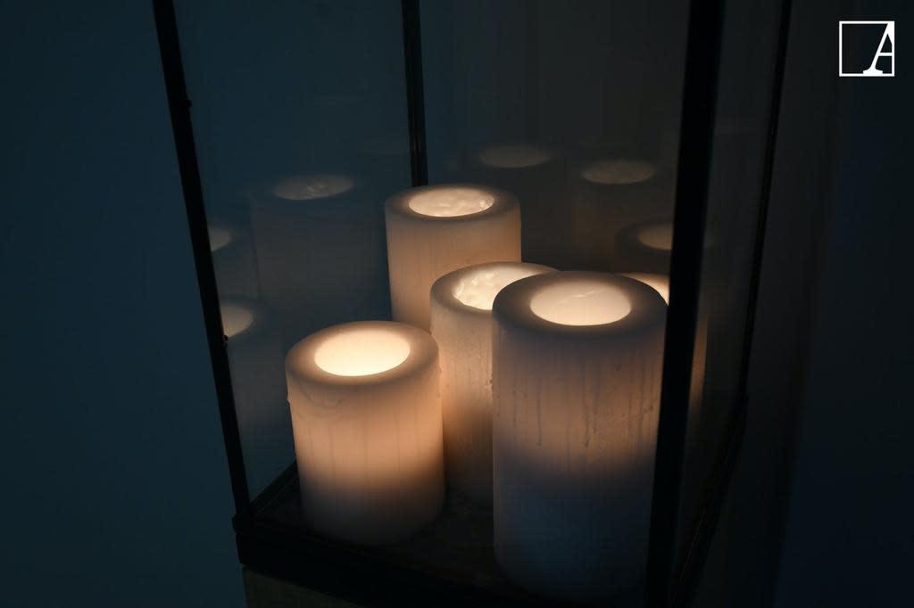 Lantern 5 Candles LED-7