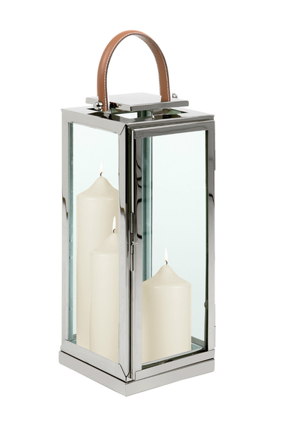 Lantern Zambia 24x24x51cm