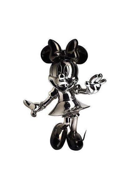 Minnie Welcome Dégradé Argent/Noir 30cm