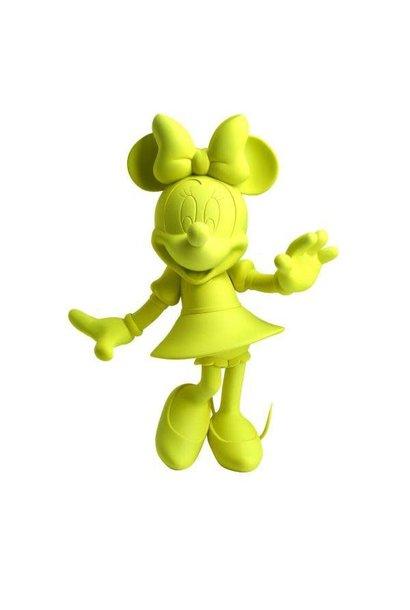 Minnie Welcome Jaune Neon 31cm