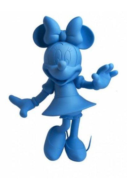 Minnie Welcome Bleu Neon 30cm