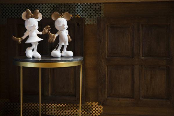 LEBLON DELIENNE - Minnie Welcome Wood 30cm-4