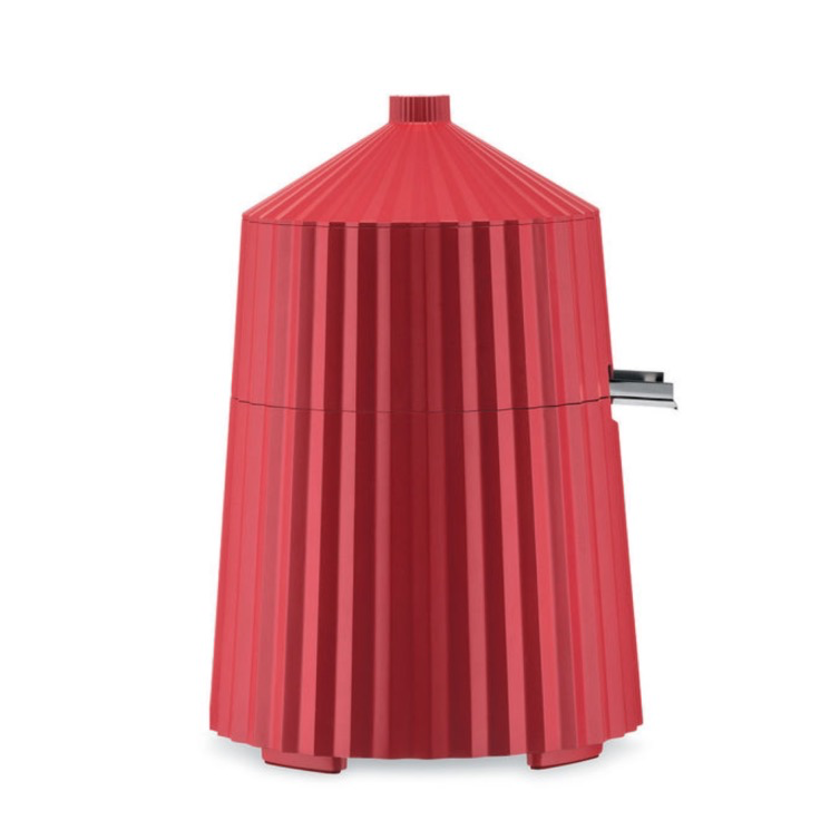 Red Pleated Citrus Press-1