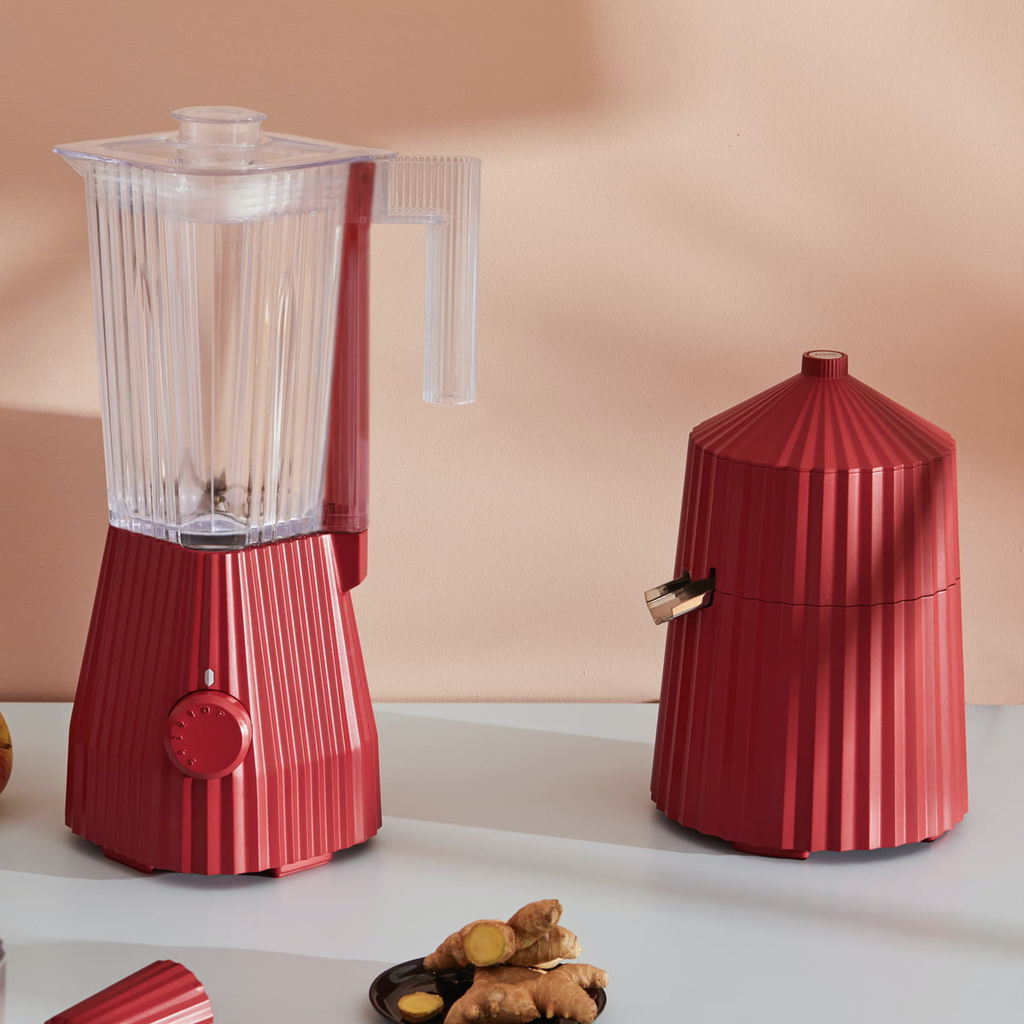 Red Pleated Citrus Press-2