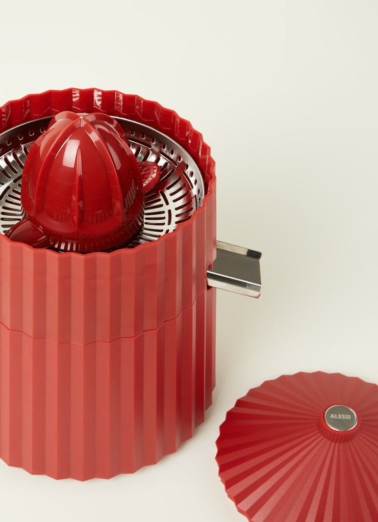 Red Pleated Citrus Press-3