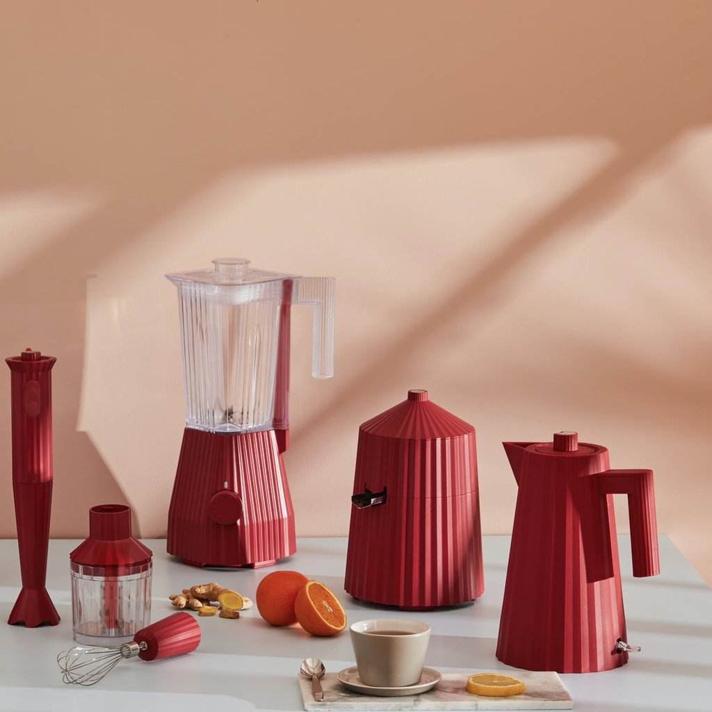 Red Pleated Citrus Press-4