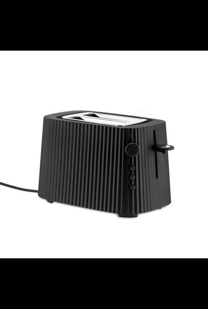ALESSI - Black Resin Pleated Toaster