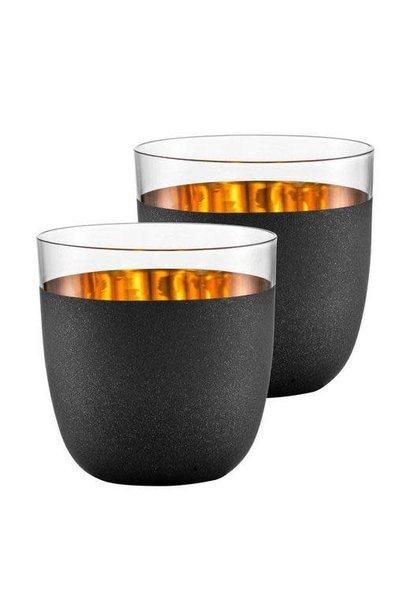 Cosmo Gold Glasses Set 2pcs