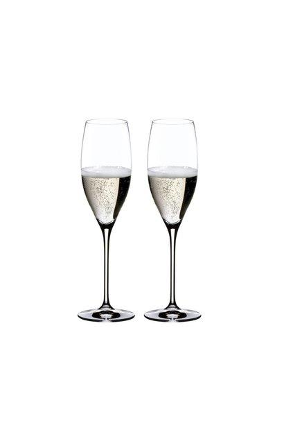 Flûtes Cuvée Prestige Champagne Set 2pcs