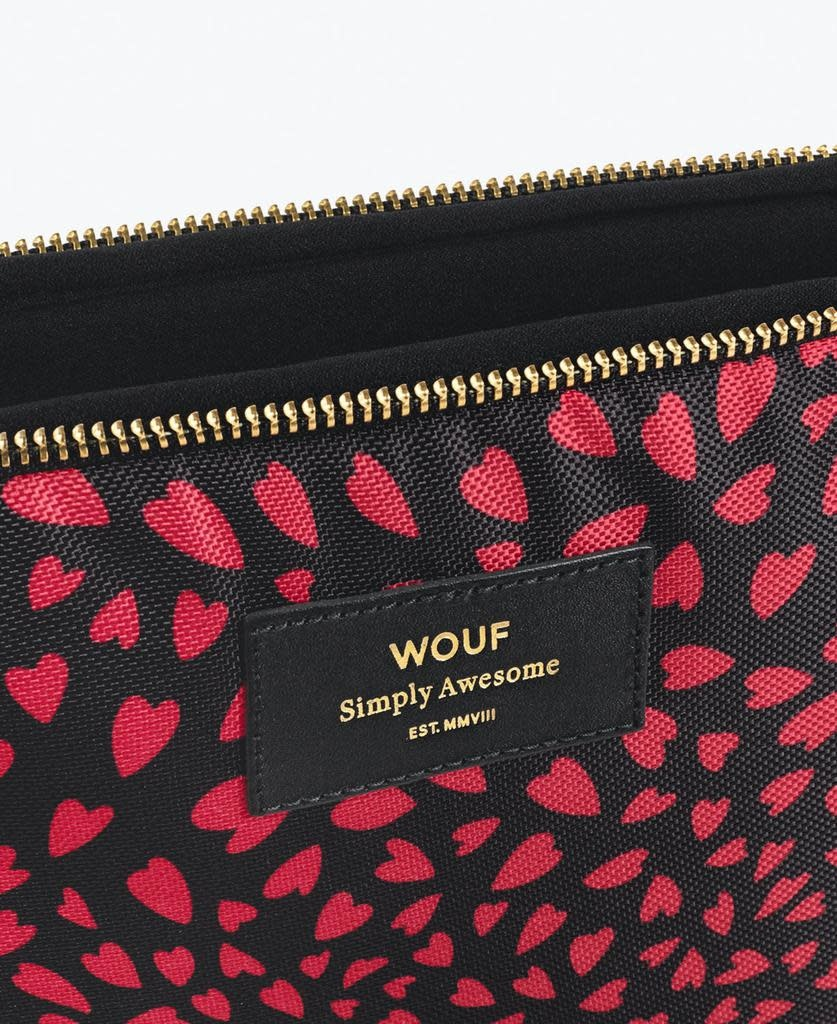 WOUF - Pouch L Hearts-2