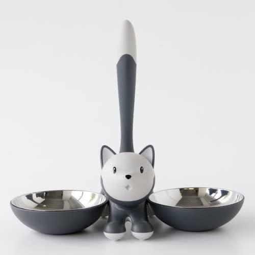 Tigrito Gray Cat Bowl-4