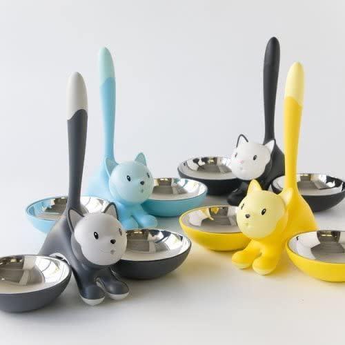Tigrito Gray Cat Bowl-7