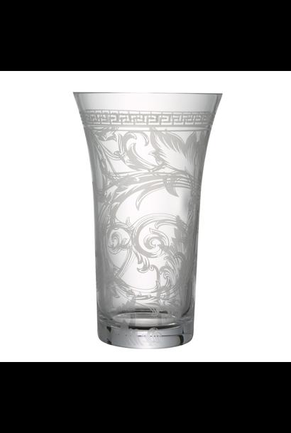 VERSACE Arabesque Vase Verre 34cm
