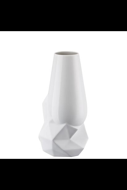 Vase Geode Weiss 27cm