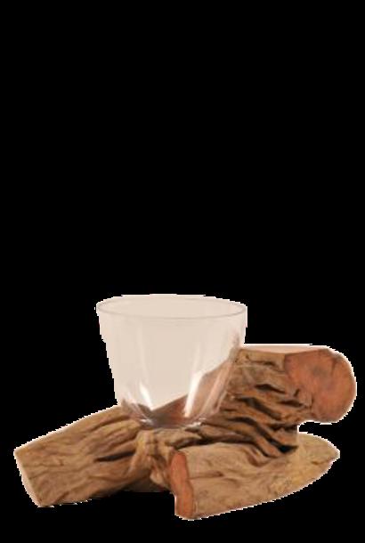 Tealight holder Trons H17cm