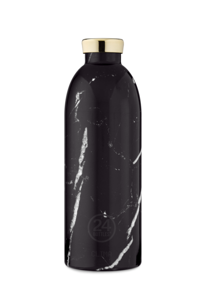 Bouteille Thermos Clima Marble Noir 85cl
