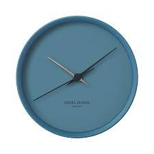 JENSEN - Blue Clock 22cm-1