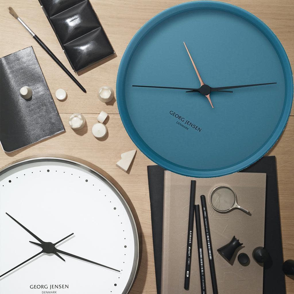 JENSEN - Blue Clock 22cm-2
