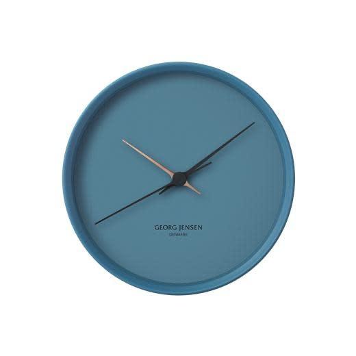 JENSEN - Blue Clock 22cm-3