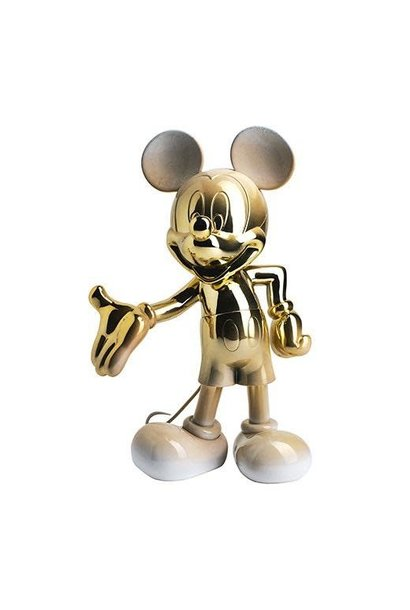 Mickey Welcome Gold & White 30cm